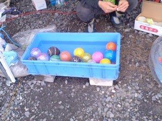子供祭り・水ヨーヨー釣り