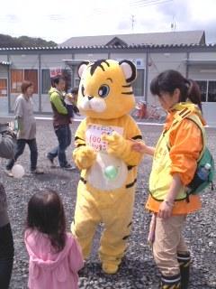 子供祭り・トラさん!!