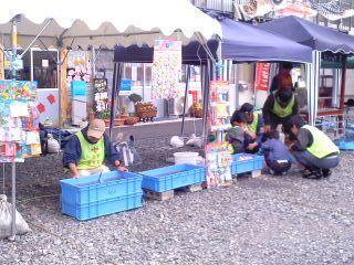 子供祭り・金魚〜鯛焼き