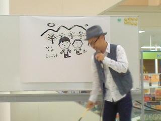 お客さん似顔絵by長谷川先生