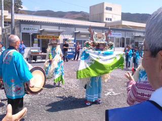 菜の花・鹿子踊り0428-2