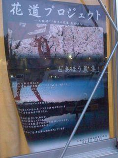 桜木道ポスター