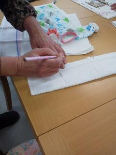 手作りタオル4
